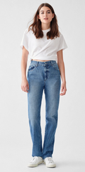 DL1961 | Jerry Full Length High Rise Vintage Straight Jean | Keller