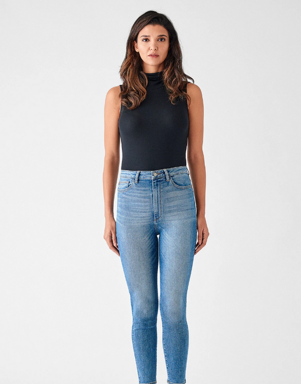 DL1961 | Chrissy Ultra High Rise Skinny Jean | Weymouth
