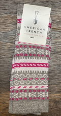 American Trench | Women's Fair Isle | Grey