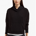 James Perse | Relaxed Cropped Hoodie