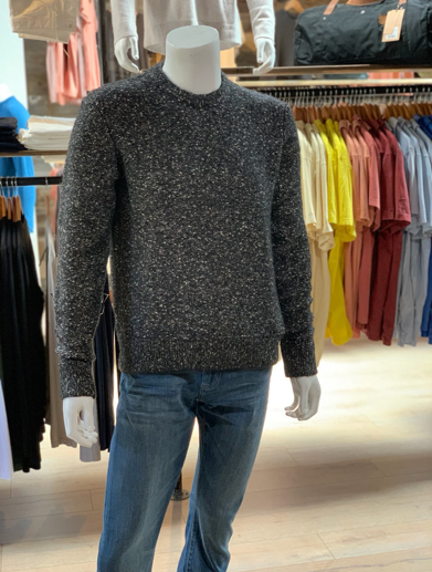 James Perse | Chunky Crew Neck Sweater