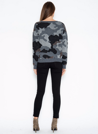 One Grey Day | Formosa Camo Pullover