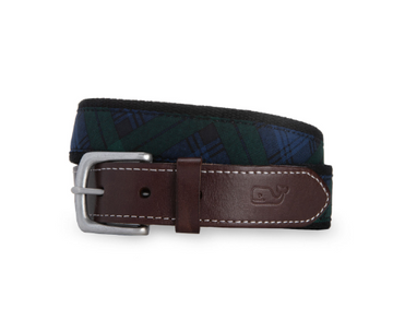 Vineyard Vines | Blackwatch Canvas Club Belt