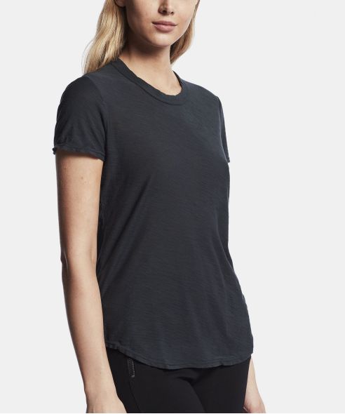 James Perse | Women's Sheer Slub Crew Neck Tee