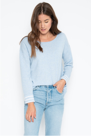 One Grey Day | Piper Cashmere Pullover