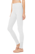 Alo | High Waist Sueded Lounge Legging