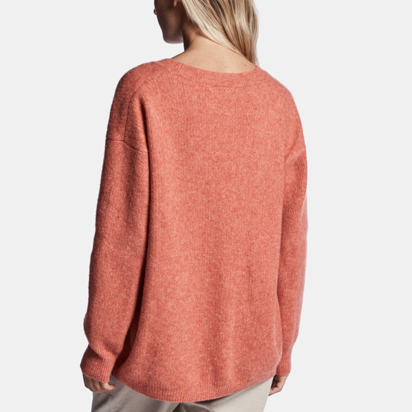 James Perse | Oversized Cashmere V-Neck