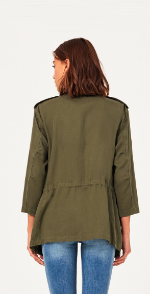 DL1961 | Beekman Military Jacket | Military Green
