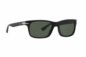 Persol | PO3048S | Black with Crystal Green