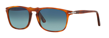 Persol | PO30592 | Terra Di Siena with Polarized Gradient Blue