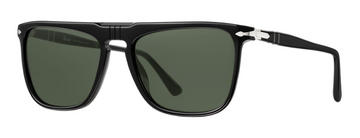Persol | PO3225S | Black With Green Polarized