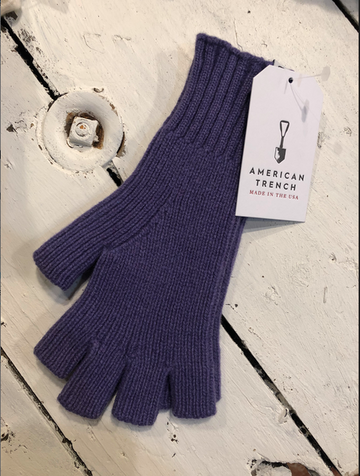 American Trench | Fingerless Cashmere Gloves