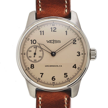 Weiss Watch Co. | 42mm Standard Issue Field Watch - Latte Dial
