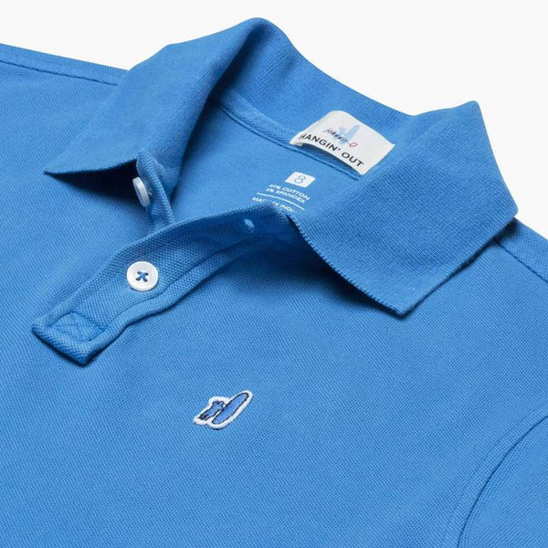 Johnnie-O | Duncan Jr. Washed Garment Dyed Pique 2-Button Polo