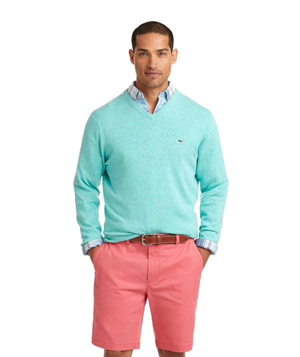 Vineyard Vines | Lightweight Heather V-Neck