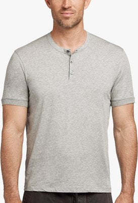 James Perse | Cotton Cashmere Short Sleeve Henley