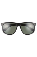 Ray Ban | Boyfriend Black With Green Polarized