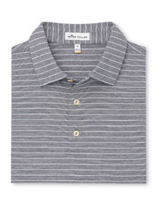 Peter Millar | Jackson Stripe Cotton Lisle Polo
