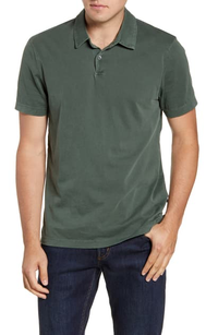 James Perse | Sueded Jersey Polo