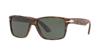 Persol | PO3195S |  Dark Havana with Green Polarized