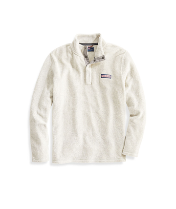 Vineyard Vines | Snap Placket Sherpa Pullover