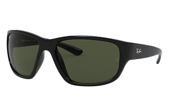 Ray Ban | RB4300 Black/ Green