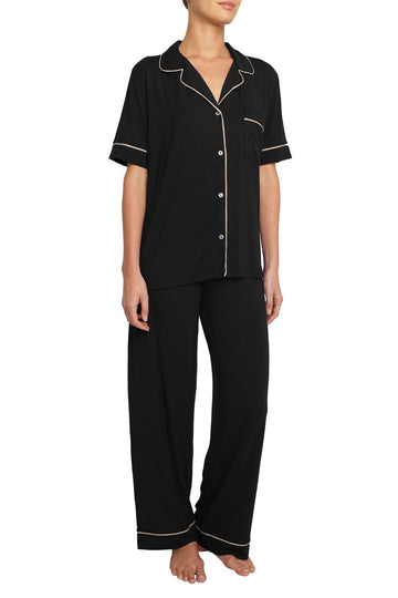 Eberjey | Gisele Short Sleeve and Pant PJ Set
