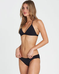 Billabong - Sol Searcher Triangle Bikini Top - Black Pebble