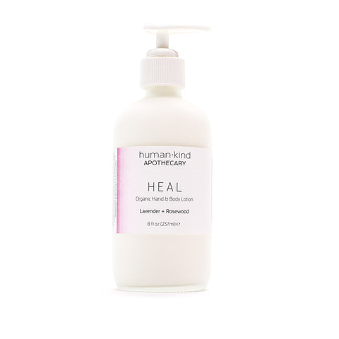 HEAL: Organic Hand & Body Lotion - Lavender + Rosewood