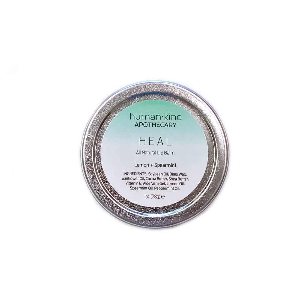 HEAL: Lip Balm - Lemon + Spearmint