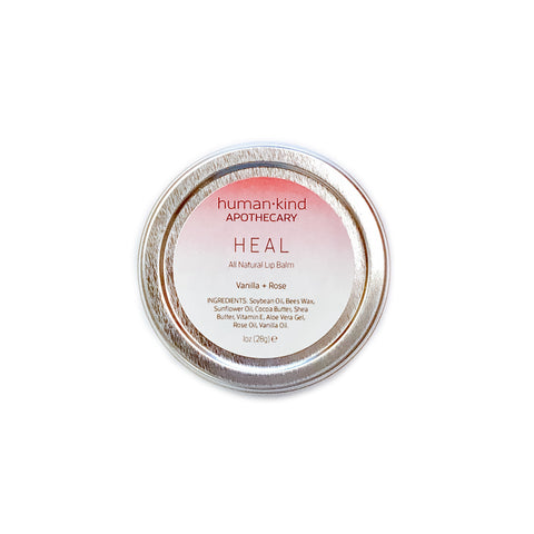 HEAL: Lip Balm - Vanilla + Rose