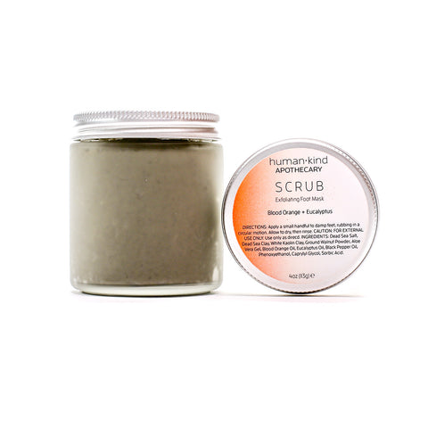 SCRUB: Exfoliating Foot Mask