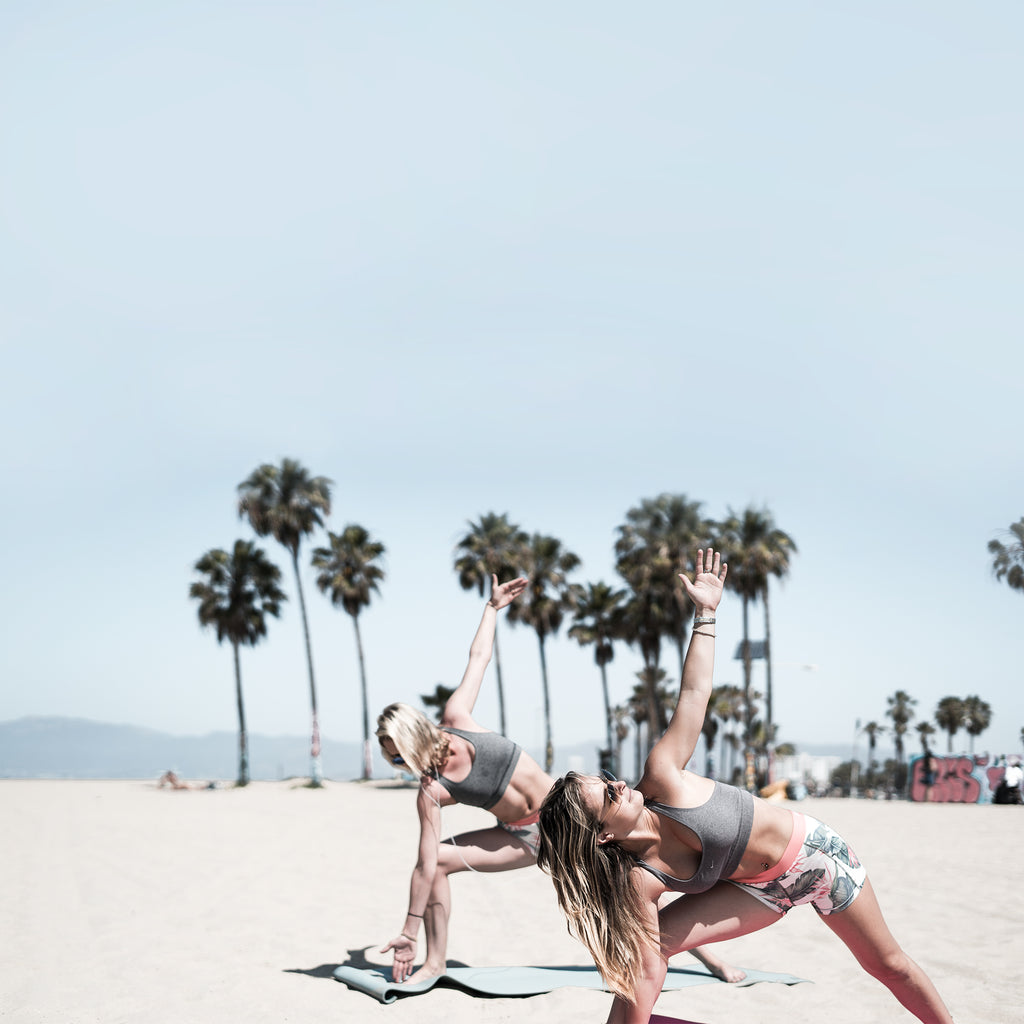 Venice, CALIFORNIA || FITSPI | yoga water sand