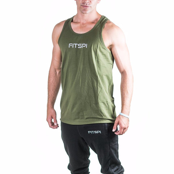 FLIGHT Tank Top - Olive