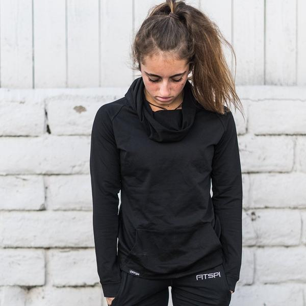 Ready For It Ruffle Neck Hoodie