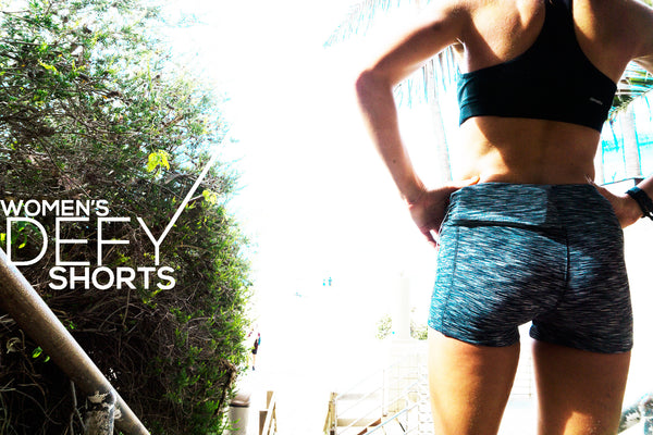Shorts - Women's Defy Shorts - fitspi