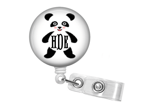 Badge Reel - Panda One - Clowdus Creations
