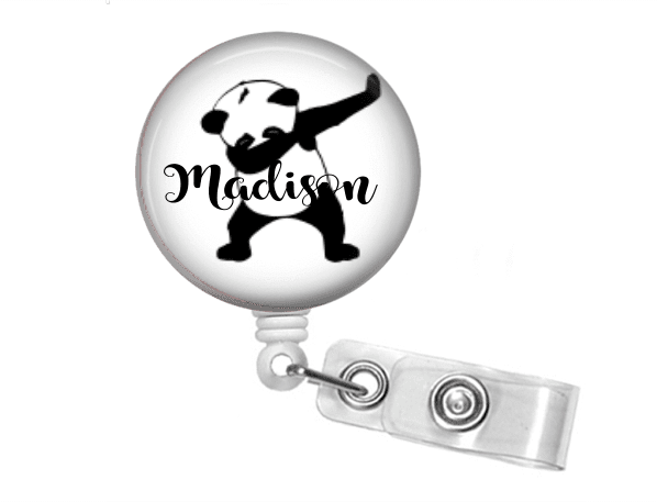 Badge Reel - Panda Two - Clowdus Creations