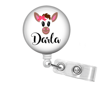 Badge Reel - Donkey - Clowdus Creations