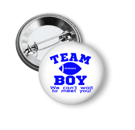 Gender Reveal - Team Boy Football - Clowdus Creations
