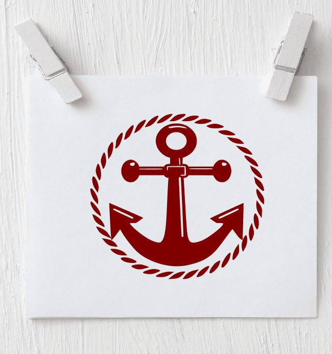 Anchor Decal - Clowdus Creations