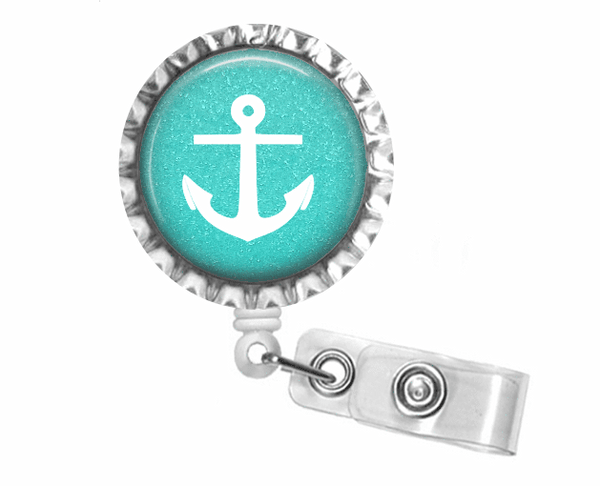 Anchor badge reel - Clowdus Creations