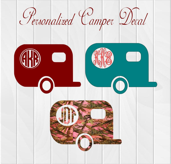 Dual Window Camper Decal - Clowdus Creations