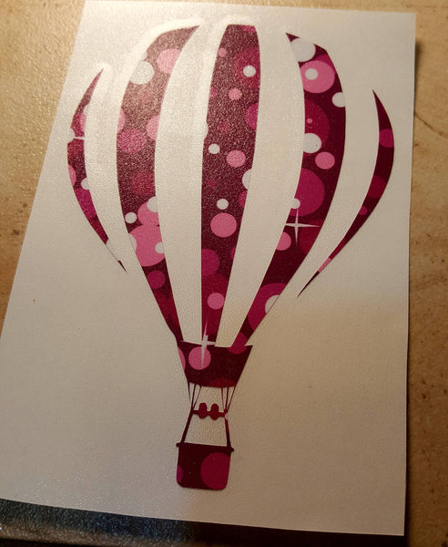Hot Air Balloon Decal - Clowdus Creations