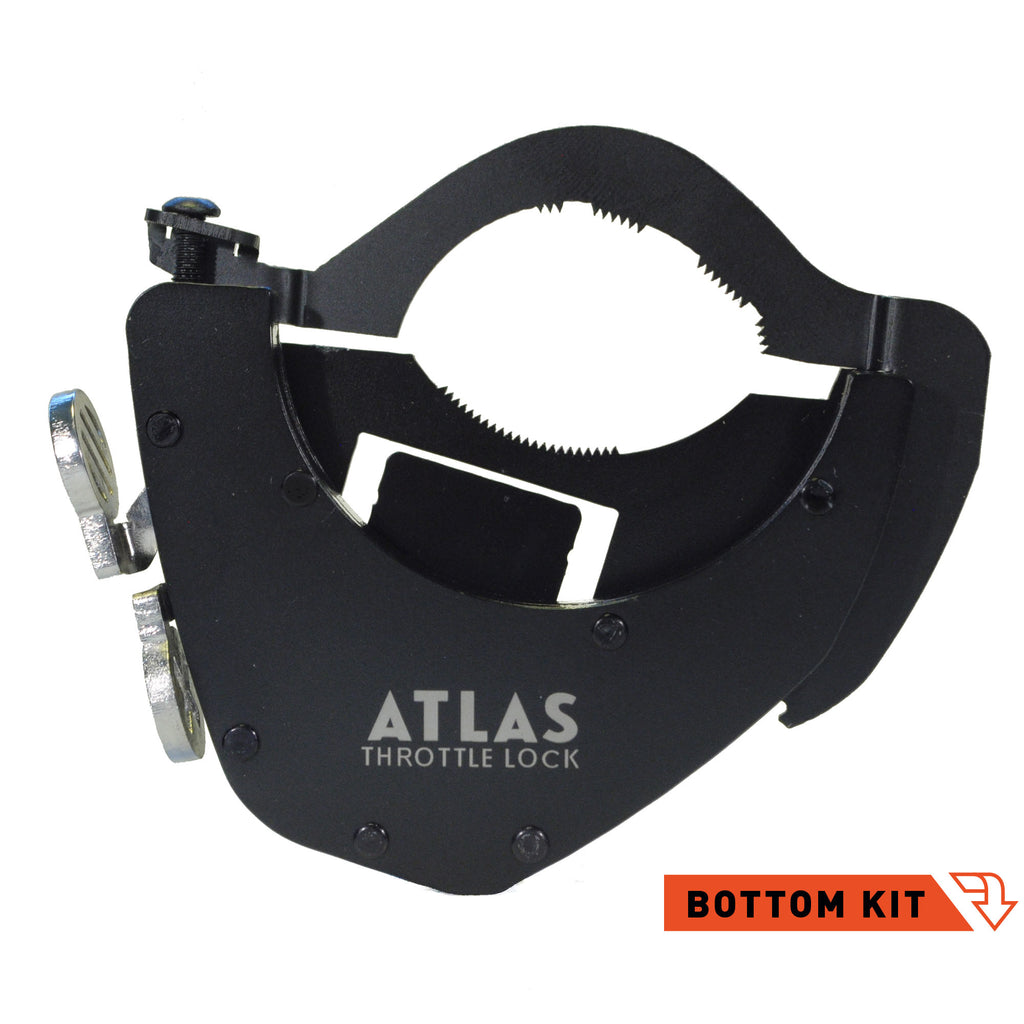ATLAS Throttle Lock - Black Bottom Kit