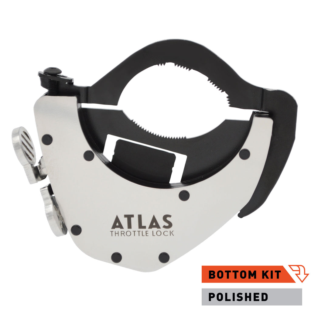 ATLAS Throttle Lock - Polished Bottom Kit