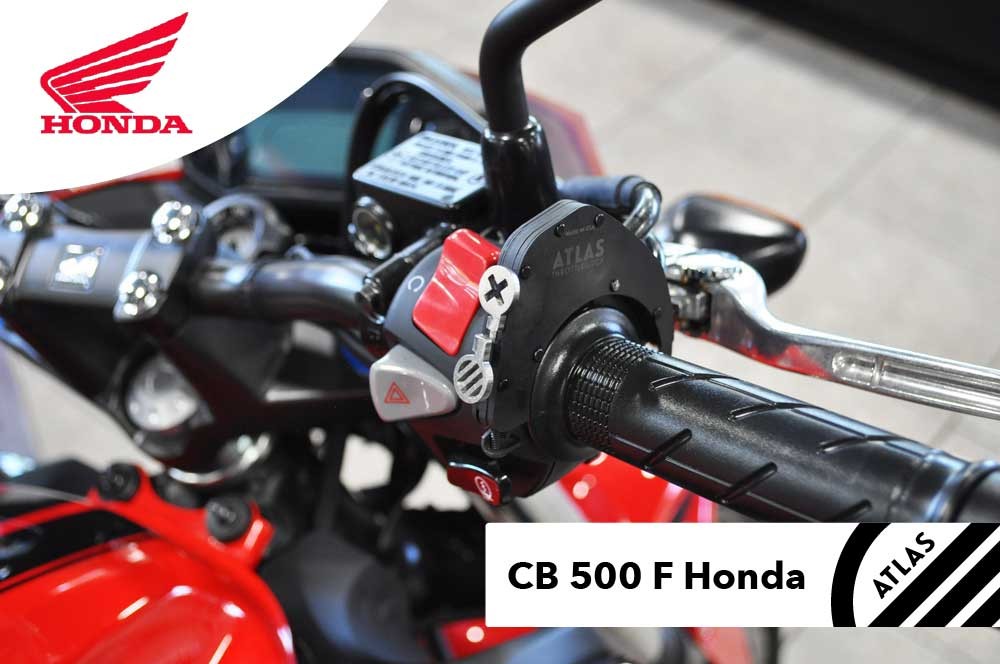 Cruise Control for Honda Motorcycles - ATLAS Throttle Lock