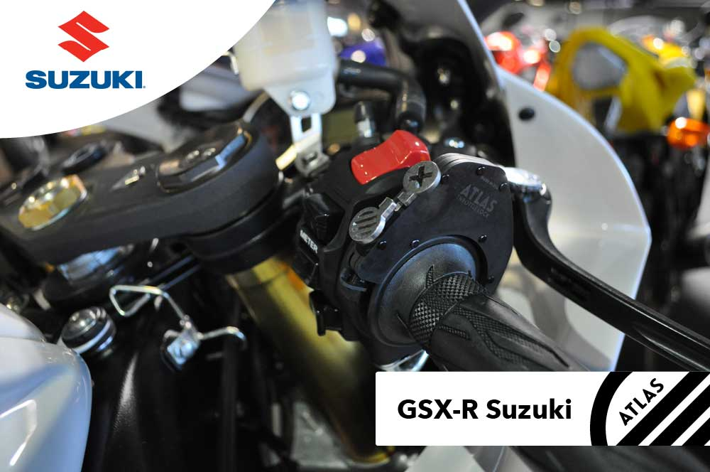 Suzuki Motorcycles - ATLAS Throttle Lock