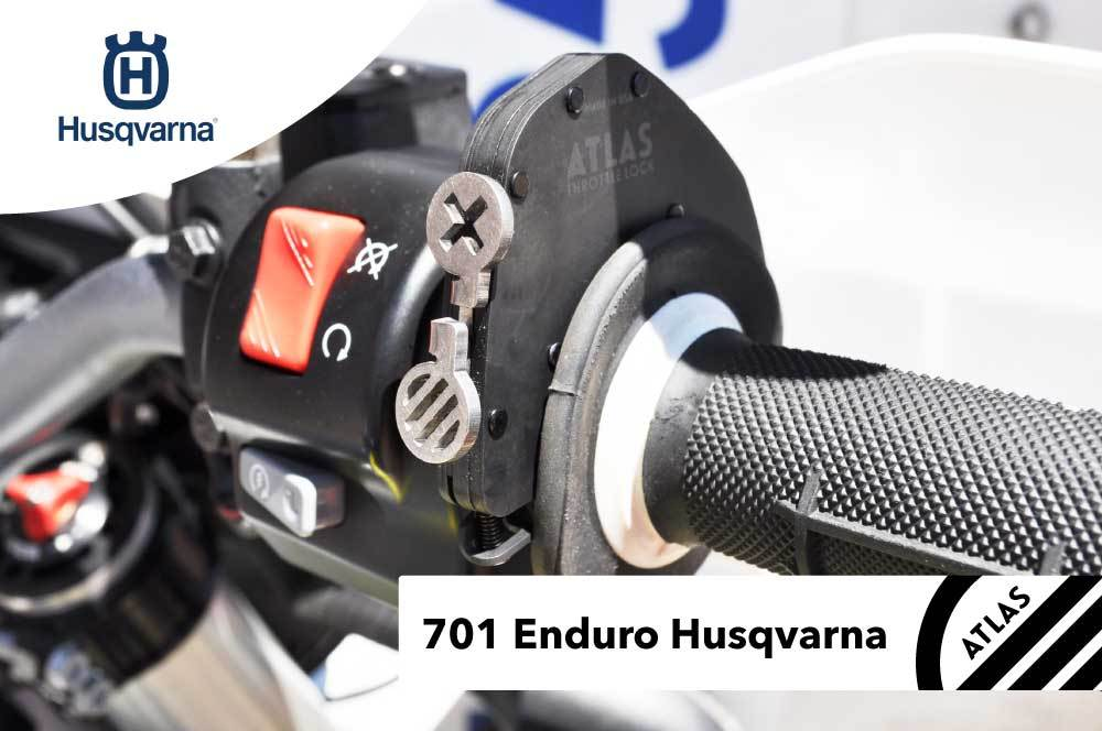 Husqvarna Motorcycles - ATLAS Throttle Lock