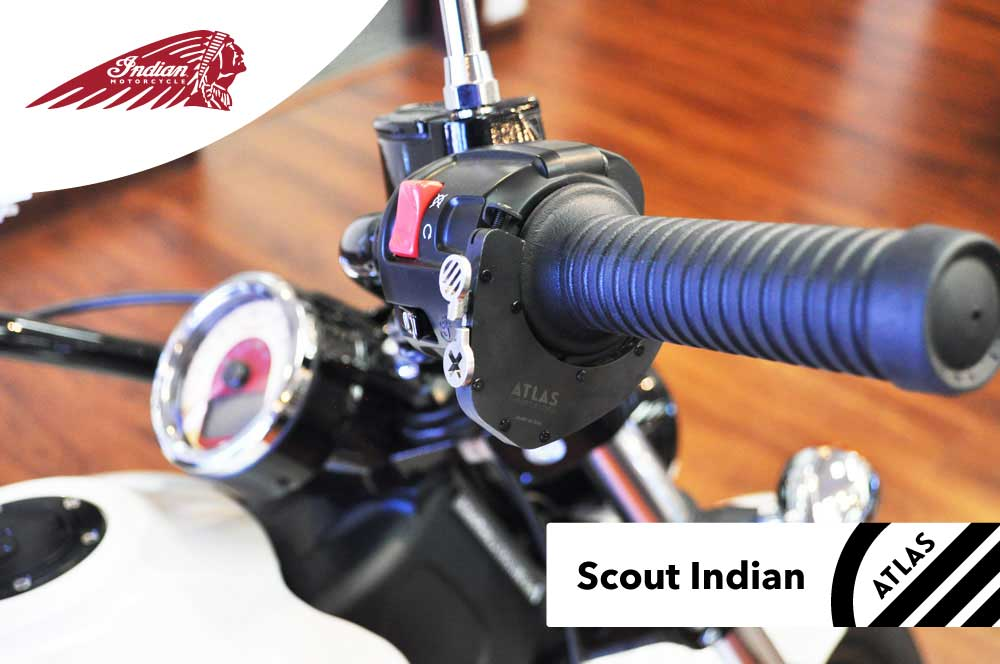Indian Motorcycles - ATLAS Throttle Lock